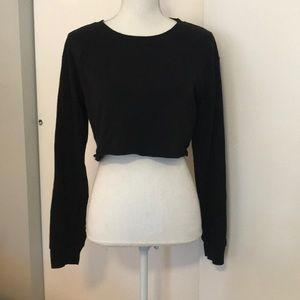 Garage Cropped sweatshirt